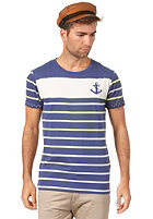 SELECTED Anchor O-Neck S/S T-Shirt twilight blue
