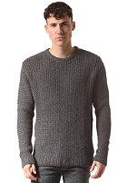 SELECTED Antonio Crew ID Knit Sweat medium grey melange
