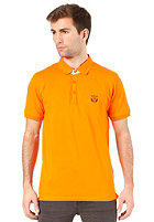 SELECTED Aro Embroidery S/S Polo Shirt exuberance