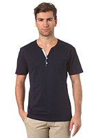 SELECTED Ask Joe Split Neck S/S T-Shirt maritime navy