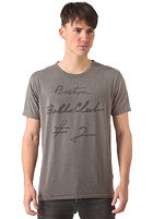 SELECTED Ball Club O-Neck S/S T-Shirt medium grey melange