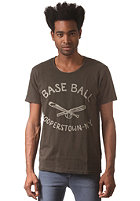 SELECTED Ball Club O-Neck S/S T-Shirt peat
