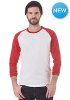 SELECTED Base O Neck Longsleeve pompeian red