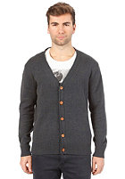 SELECTED Benton Grandad Cardigan green