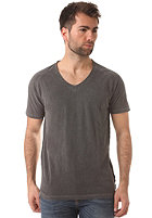 SELECTED Bound V Neck S/S T Shirt pirate black