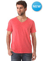 SELECTED Bound V Neck S/S T Shirt pompeian red