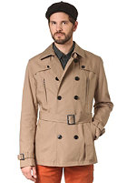 SELECTED Bowery DB Trench Coat W. Belt desert taupe