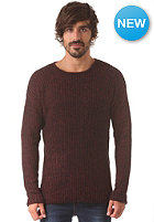 Brigade Crew Neck IDX Knit Sweat chocolate truffle
