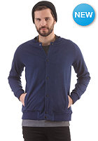 SELECTED Chambers C Cardigan Zip Sweat navy