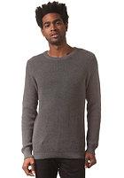 SELECTED Chip Crew Neck Knit Sweat medium grey melange
