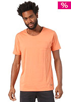 SELECTED Dave C O-Neck S/S T-Shirt carnelian