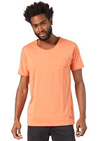 SELECTED Dave O-Neck S/S T-Shirt carnelian