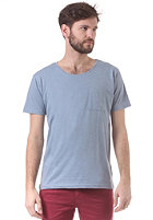 SELECTED Dave O-Neck S/S T-Shirt faded denim