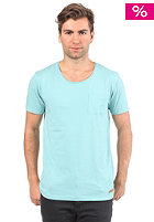 SELECTED Dave S/S T-Shirt aqua sky melange