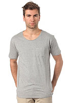 SELECTED Dave S/S T-Shirt light grey melange
