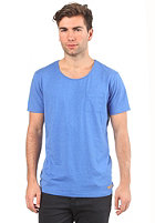 SELECTED Dave S/S T-Shirt parisian blue melange