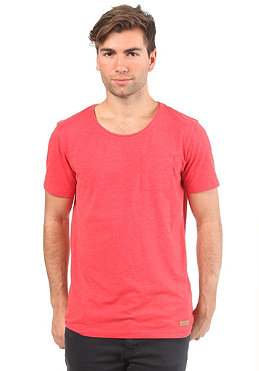 SELECTED Dave S/S T-Shirt fiery red melange