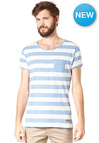 SELECTED Dave Stripe O Neck S/S T-Shirt Provence