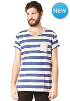 SELECTED Dave Stripe S/S T-Shirt stripes blue depths melange