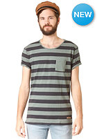 SELECTED Dave Stripe S/S T-Shirt stripes dark navy