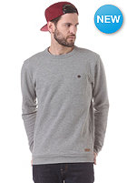 SELECTED Delik C Crew Neck Sweatshirt light grey melange