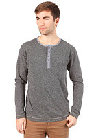 SELECTED Delwer L/S T-Shirt dark grey melange