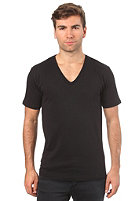SELECTED Drill Single Deep V-Neck S/S T-Shirt black