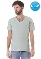 SELECTED Drill Single Deep V-Neck S/S T-Shirt frosty green