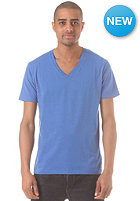 SELECTED Drill Single Deep V Neck S/S T-Shirt nautical blue