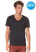 SELECTED Drill Single Deep V-Neck S/S T-Shirt night sky