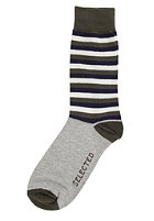 SELECTED Eric Socks light grey melange