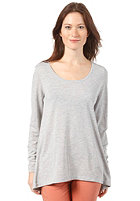 SELECTED FEMME Womens Anlio L/S T-Shirt light grey melange