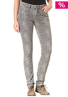 SELECTED FEMME Womens Annie MW Reptile Denim Pant grey stone