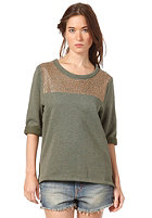 SELECTED FEMME Womens Anny 3/4 Boxy Sweatshirt dusty leaf