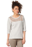SELECTED FEMME Womens Anny 3/4 Boxy Sweatshirt light grey melange