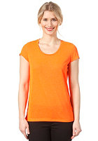 SELECTED FEMME Womens Barbara S/S T-Shirt flash orange
