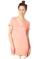 SELECTED FEMME Womens Dex Basic S/S T-Shirt fresh coral