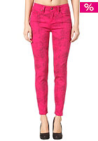 SELECTED FEMME Womens Filippa MW Animal Pant super pink