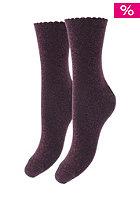 SELECTED FEMME Womens Glimmer Socks marron