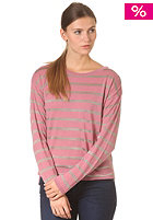 SELECTED FEMME Womens Gry Knit Sweat pink grape