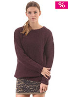 SELECTED FEMME Womens Heidi FJ L/S Knit Sweat fudge