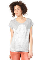 SELECTED FEMME Womens India S/S T-Shirt mid grey melange