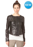 SELECTED FEMME Womens Jasion Leather Jacket black