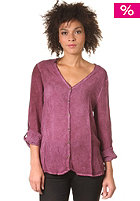 SELECTED FEMME Womens Julio L/S Top plum wine