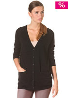 SELECTED FEMME Womens Malin Long Knit Cardigan black