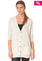SELECTED FEMME Womens Malin Long Knit Cardigan crema