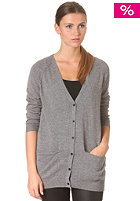 SELECTED FEMME Womens Malin Long Knit Cardigan medium grey melange