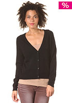 SELECTED FEMME Womens Malin Short Knit Cardigan black