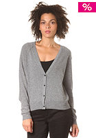 SELECTED FEMME Womens Malin Short Knit Cardigan medium grey melange