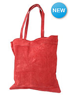 SELECTED FEMME Womens Mille Suede Shopping Bag claret red
